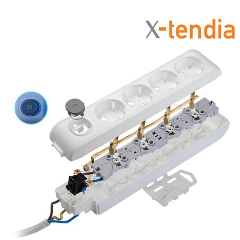 Внутренняя структура X-Tendia