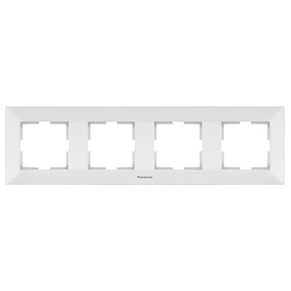 4 Gang Frame Horizontal  WMTF0804-2WH