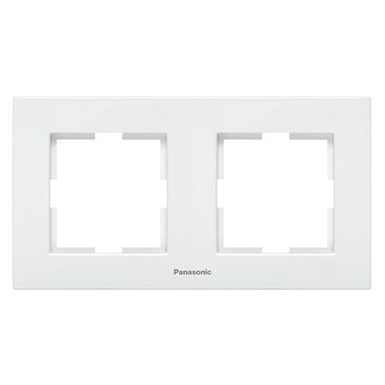 2 Gang Frame Horizontal  WKTF0802-2WH