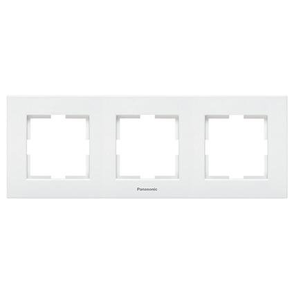 3 Gang Frame Horizontal  WKTF0803-2WH