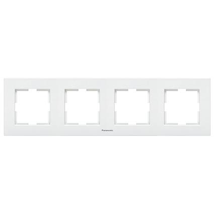 4 Gang Frame Horizontal  WKTF0804-2WH