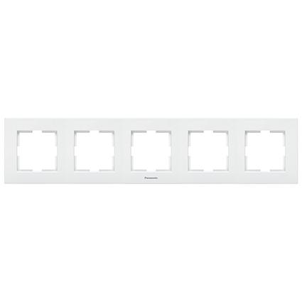 5 Gang Frame Horizontal WKTF0805-2WH
