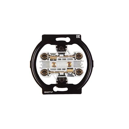 Double Socket 2P, Mechanism WBTM0314-5NC