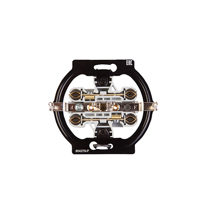 Double Socket 2P+E, Mechanism WBTM0315-5NC