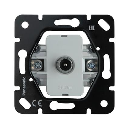 TV Socket, Through-pass (12dB), Mechanism WBTM0452-5NC