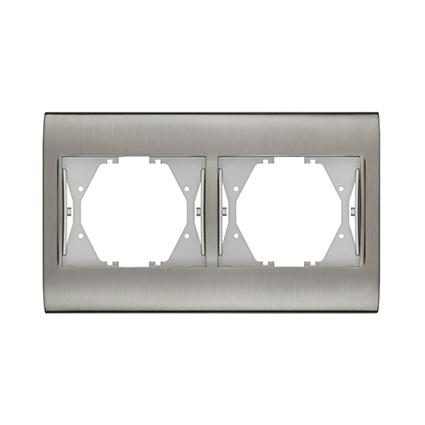 2 Gang Frame Horizontal  WBTF0802-5IN