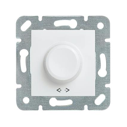 Rotary Dimmer 1-10V, Mechanism+Cover WKTT0527-2WH