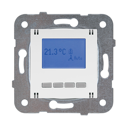 Programmable Room Thermostat, Mechanism+Up Module WKTT0542-5WH