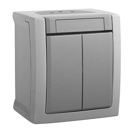 2-gang One-way Switch WPTC4009-2GR