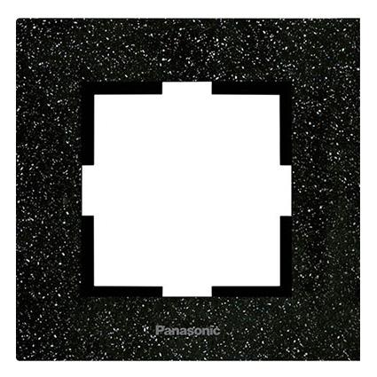 Single Frame  Corian Black Quartz WKTF0801-2WH