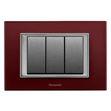 Glass Series Claret Red