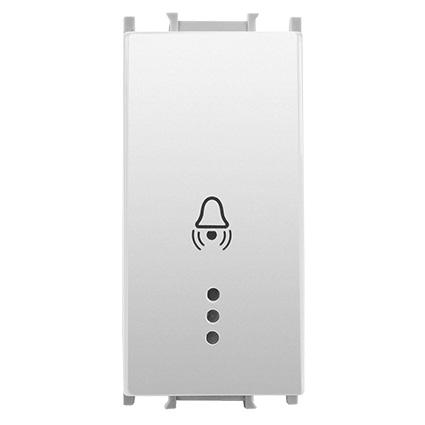 Push Button with Label, Illuminated 24V LED 1M