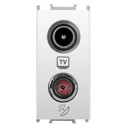 TV-SAT Socket, Terminated 1M