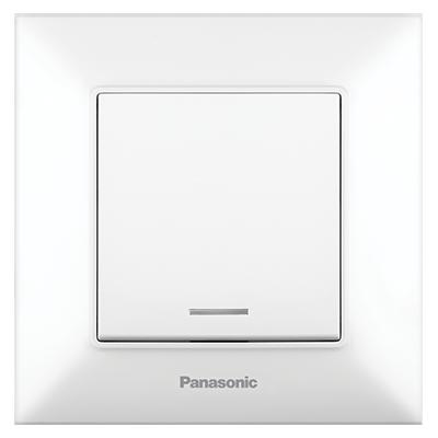 One-way Switch, Illuminated, Complete WNTC00022WH