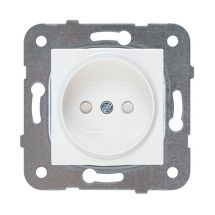 Socket 2P, With Safety Shutter, Mechanism+Cover