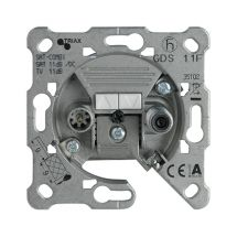 TV-Rad Socket, Through-pass (7dB), Mechanism