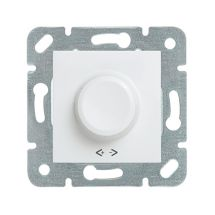Rotary Dimmer RL 60-400W, Mechanism+Cover