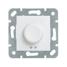 Rotary Dimmer RC 40-400W, Mechanism+Cover