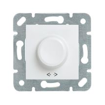 Rotary Dimmer RLC 30-350W, Mechanism+Cover